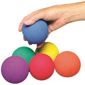No-Bounce Balls Set of 6 colors