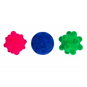 Set of 3 Rubbabu Stress Balls