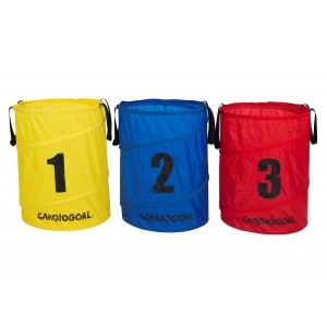Set of 3 Cardiogoal Pop-up Baskets