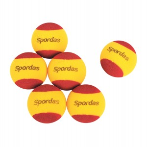 Set of 6 Foam Tennis Balls