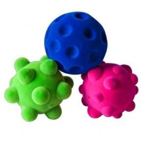 Set of 3 Rubbabu Mini Sensory Balls