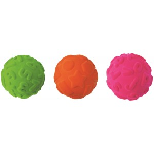 Set of 3 Rubbabu Educational Balls