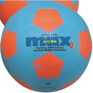 MAX soccer Ball Size 4 - Pce - Blue/Orange