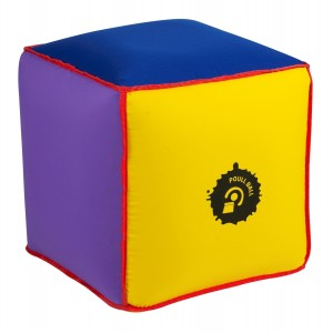 Cube Poull Ball gonflable avec housse